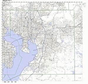 hillsborough county florida fl zip code map