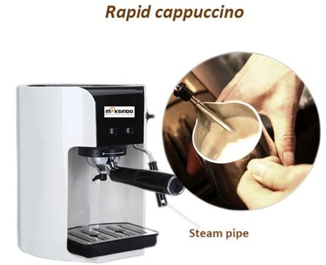 Tray Semai Di Malang cara praktis membuat minuman kopi dengan mesin kopi