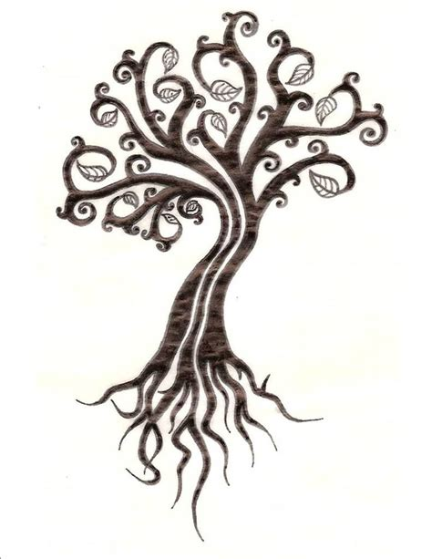small life tattoos tree of designs for images