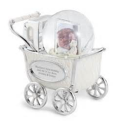 personalized baby carriage snow globe findgift com