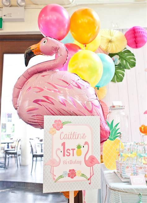 Kara s party ideas spring flamingo birthday party kara s party ideas