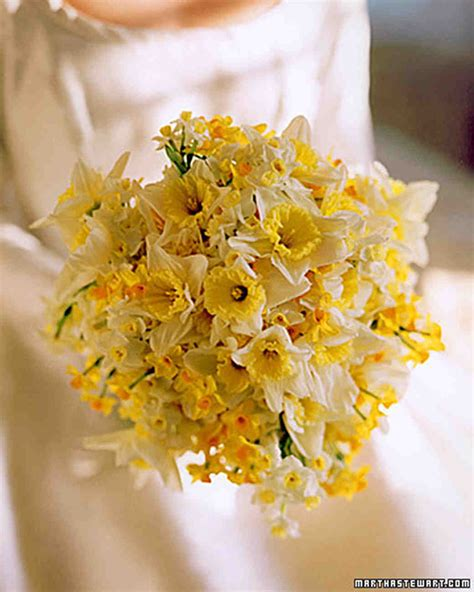 Wedding Bouquet Yellow by Yellow Wedding Bouquets Martha Stewart Weddings