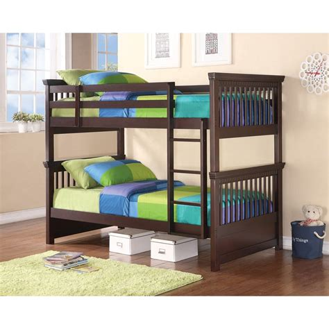 rent to own beds rent to own coaster oliver twin over twin bunk beds
