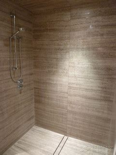 barrier  curbless rain shower coquittlam modern