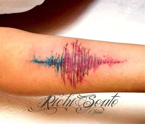 sound wave tattoo the 25 best ideas about sound wave on