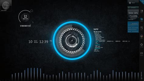 Rainmeter Detox by Demonstration Of Rainmeter On Second Monitor By Ehspee On