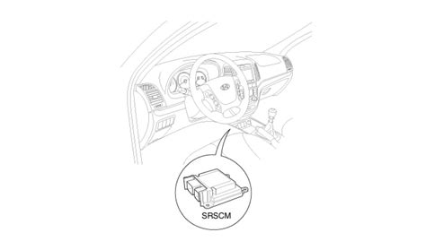 hyundai santa fe how do you remove the airbag module in a