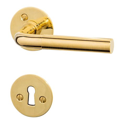 Interior Brass Door Handles Funkis Door Handle Interior Brass Door Handle 16mm Funkis Door Handles Villahus Co Uk