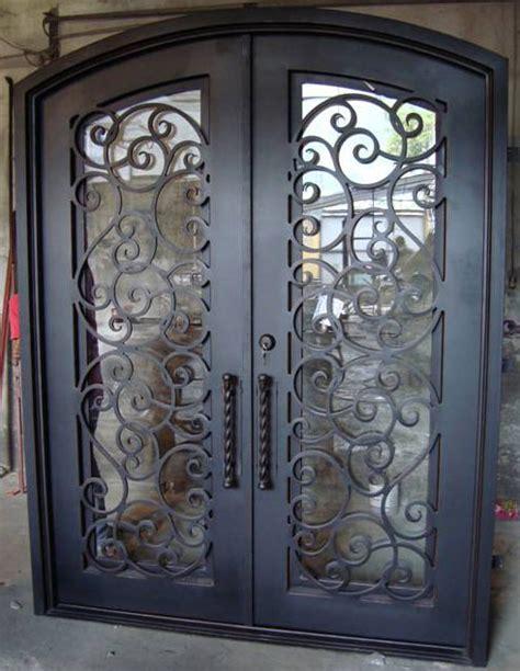 exterior iron doors forged iron entry doors custom designed exterior iron