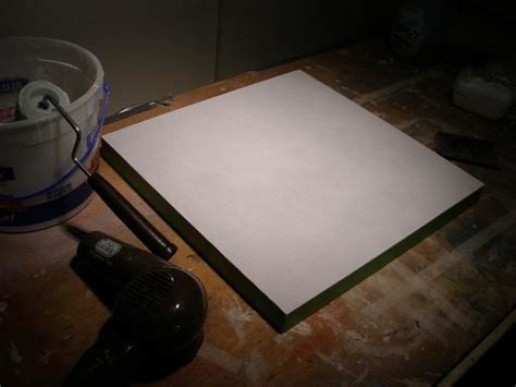 How To Gesso A Panel Masonite Or Hardboard The Easy Way