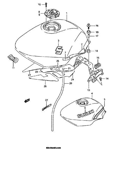 1989 suzuki katana 750 wiring diagrams repair wiring scheme