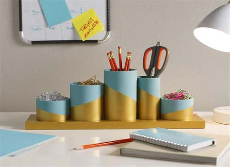 Diy Desk Organization Ideas Diy Desk Organizing Ideas Projects Decorating Your Small Space