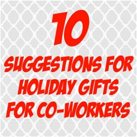 10 suggestions for holiday gifts for co workers splash