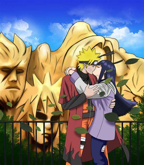 imagenes de naruhina love naruhina kiss by odinforce23 on deviantart