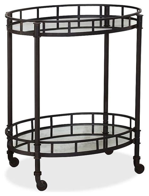 houzz bar cart caprice metal bar cart traditional bar carts by
