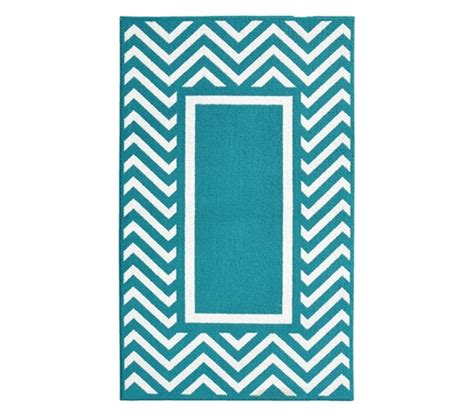 teal and white chevron rug rugs chevron frame college rug teal and white