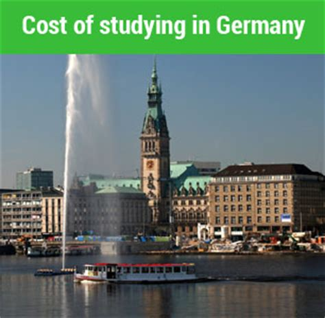 Cost Of Studying Mba In Singapore by Cost Of Studying In Germany For International Students