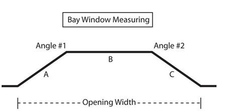 how to measure for bay window curtains custom bay window 1 quot iron curtain rod in 4 finishes