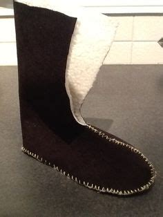 boot liners diy pattern free sewing projects tags patterns and boots