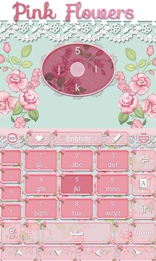 go keyboard themes pink mobile9 download pink flowers go keyboard theme google play