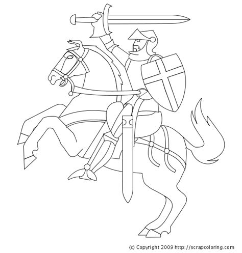 free printable coloring pages of knights knight horse coloring pages projects to try pinterest