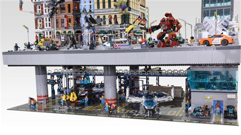 Modular Home Reviews double decker avengers bricknerd your place for all