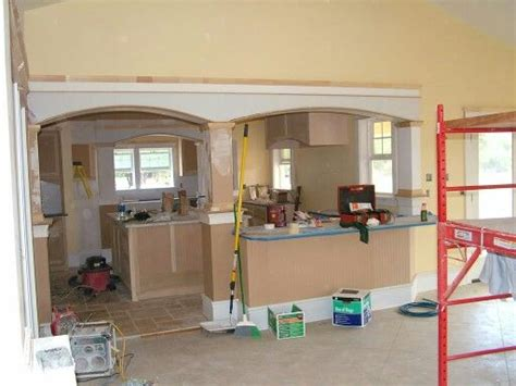 Moving Kitchen Into Living Room 25 Best Ideas About Load Bearing Wall On