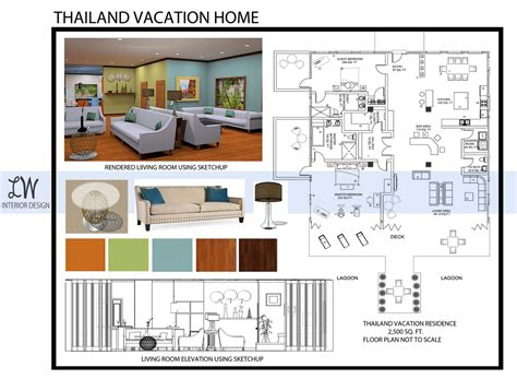 Interior Design Layout Sle | interior design portfolio lauren williams archinect