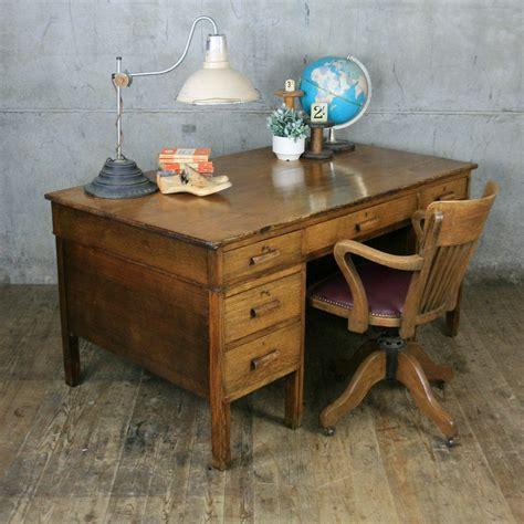 vintage oak teacher s desk large vintage oak teachers desk mustard vintage