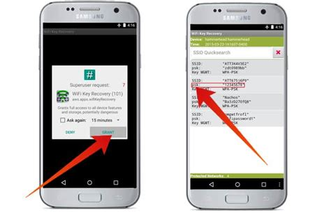 find wifi password android how to view saved wifi passwords on android