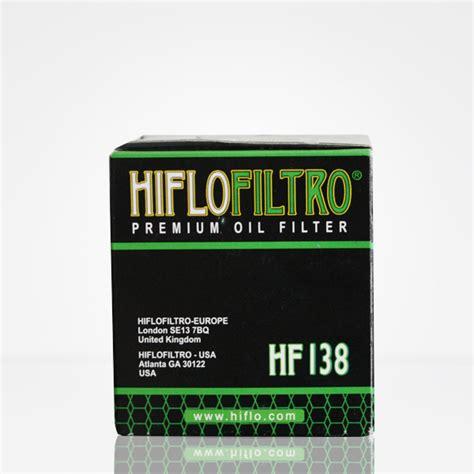 Motorrad Lfilter by Oilandparts Hiflofiltro Oelfilter Hf138