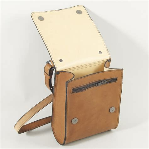 Uk Handmade Leather Bags - the fax bag henry tomkins