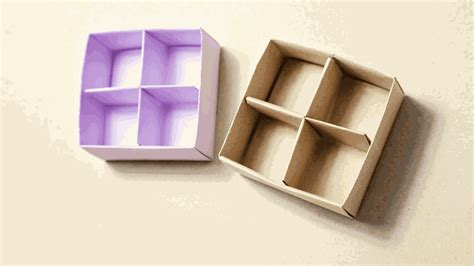 Origami Box Divider - organize with a masu box divider