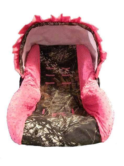 pink camouflage car seat covers custom camo and pink infant car seat cover pink