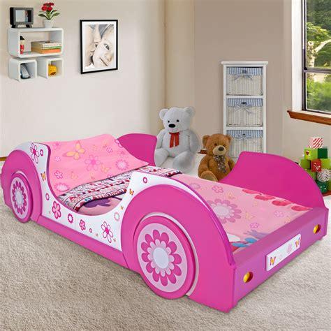 futon bett 90x190 single bed frame toddler junior bed pink