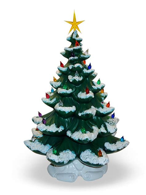small ceramic light up christmas tree christmas decor idea ceramic trees crafts unleashed
