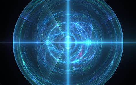energy wallpaper abstract 3d blue light ball full hd wallpaper and background