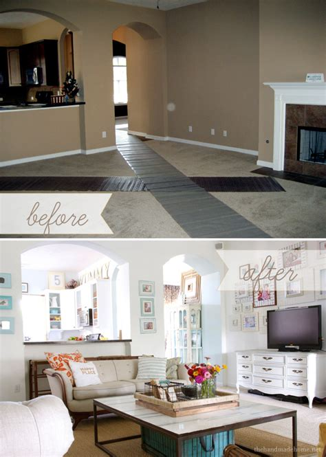 Home Decor Before And After by Living Room Before And After Home Decor