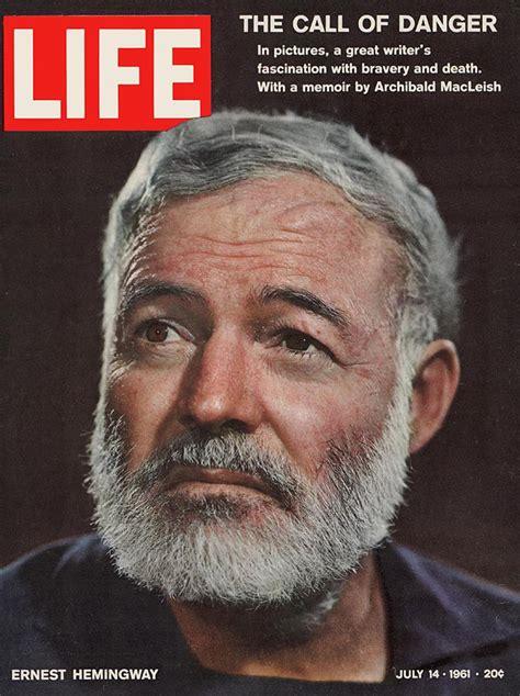biography about ernest hemingway life magazine ernest hemingway cover 1961 yousuf karsh