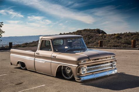 Sacramento Upholstery Delmo S Does It Again With A Slammed 1965 Chevrolet C10