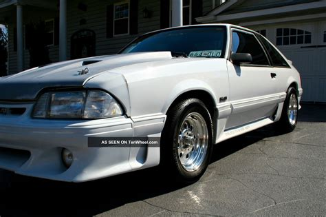 supercharged 1989 ford mustang gt 5 0