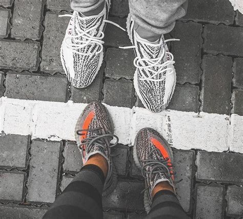 Adidas Yeezy Premium Size 37 44 adidas yeezy boost 350 v2 quot zebra quot top and quot beluga quot bottom sneaker fashion