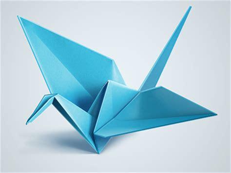 Origami Blue Bird - blue origami bird by zhanna krivich dribbble