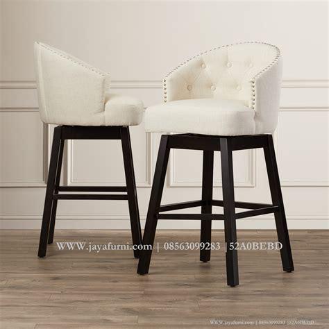 Kursi Bar Minimalis kursi sofa bar minimalis jok putih jayafurni mebel
