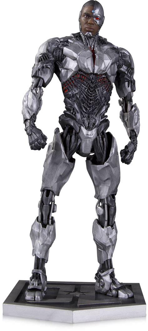 justice league film cyborg cyborg justice league movie statue figure at cmdstore com