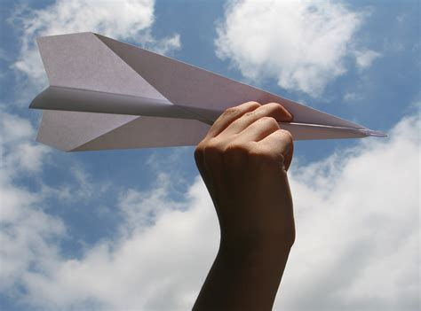 A Paper Airplane - paper airplanes with benefits tutordoctorwny01