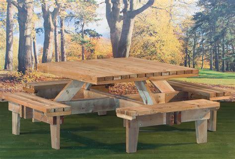 picnic bench design picnic time tuin tuindeco blog