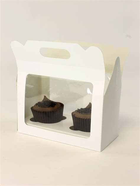 cupcake boxes with window cupcake boxes with window and insert carters packaging ltd