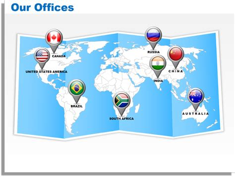 4 steps to customize editable world map templates for