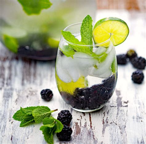 Blackberry Mint Detox Water by 12 Infused Water Ideas To Help You Hydrate Your Health